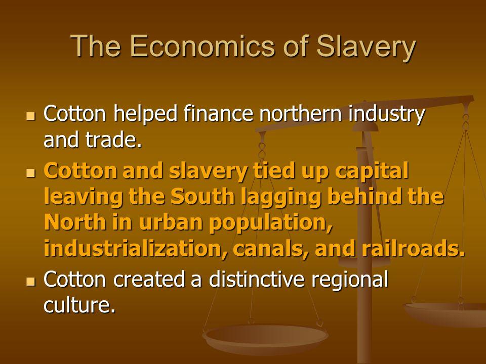 The Economics of Slavery