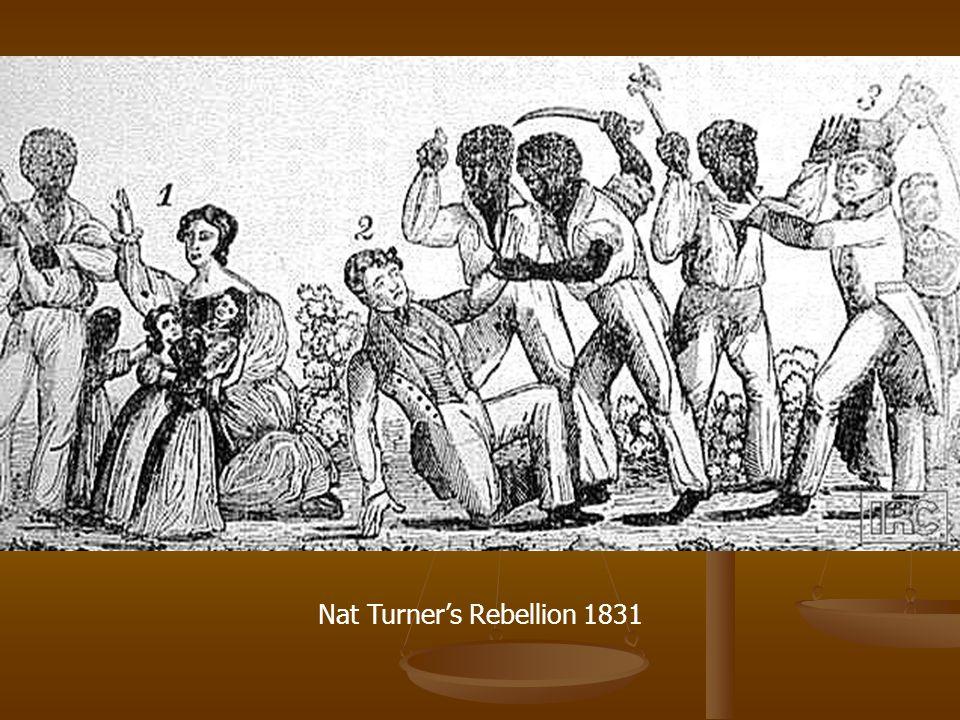 Nat Turner's Rebellion 1831