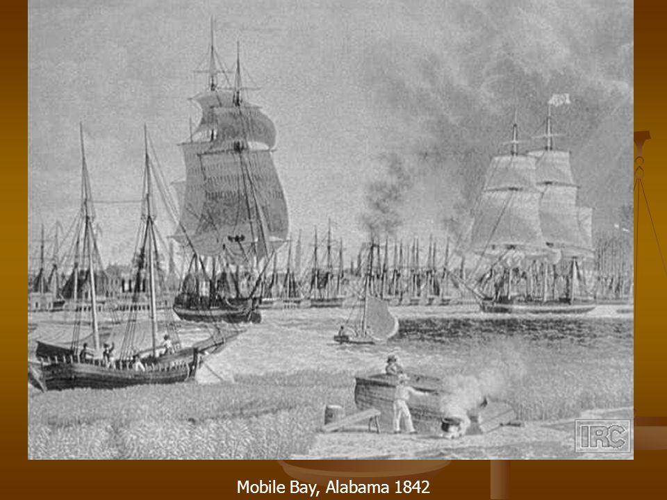 Mobile Bay, Alabama 1842