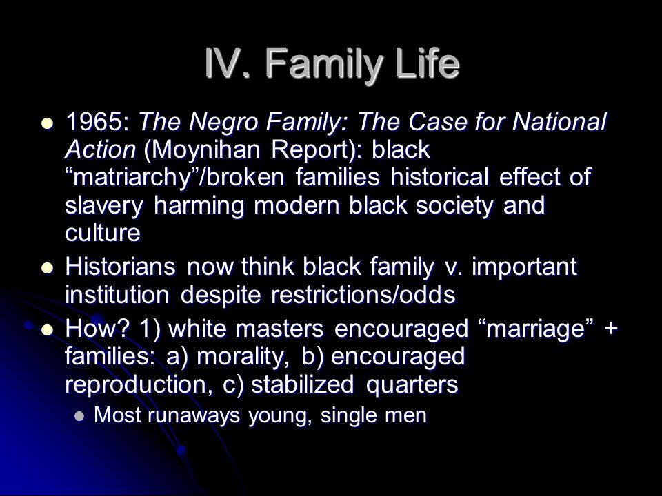 IV. Family Life