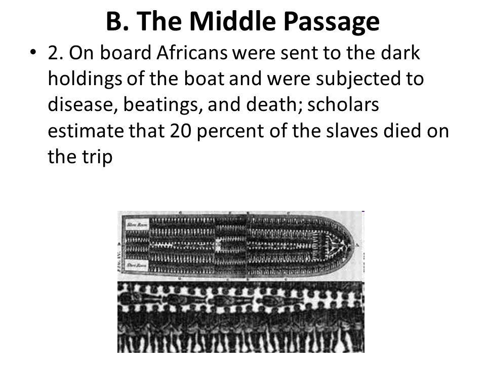 B. The Middle Passage