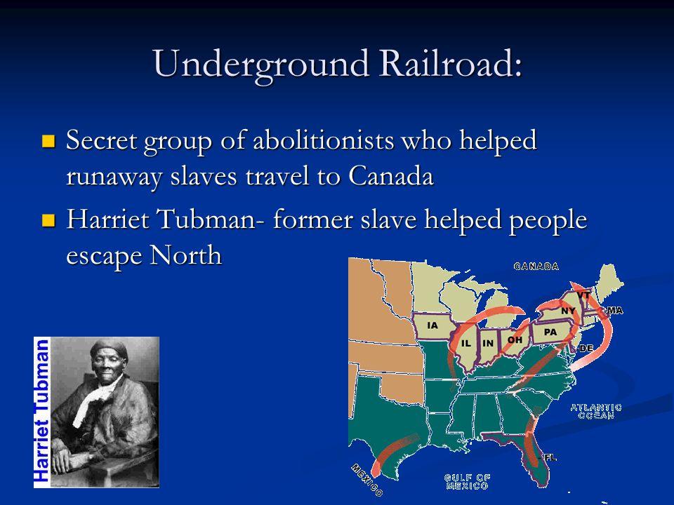 Underground Railroad: