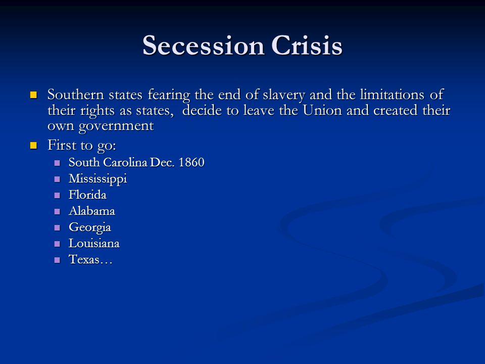 Secession Crisis