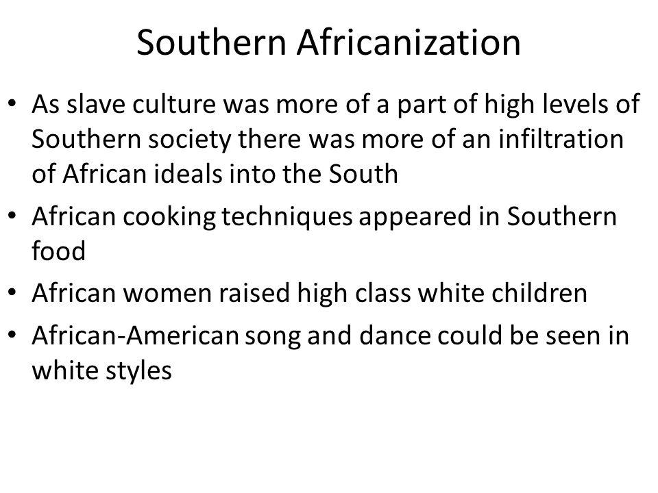 Southern Africanization