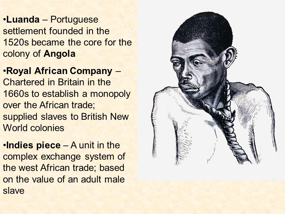 Luanda – Portuguese settlement founded in the 1520s became the core for the colony of Angola