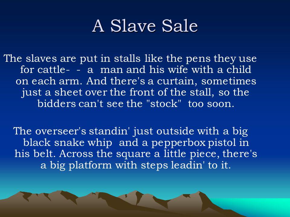 A Slave Sale