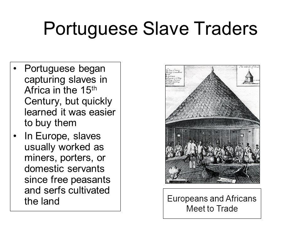 Portuguese Slave Traders
