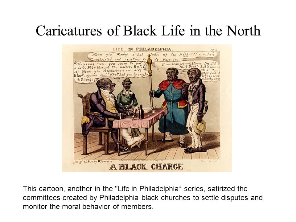 Caricatures of Black Life in the North