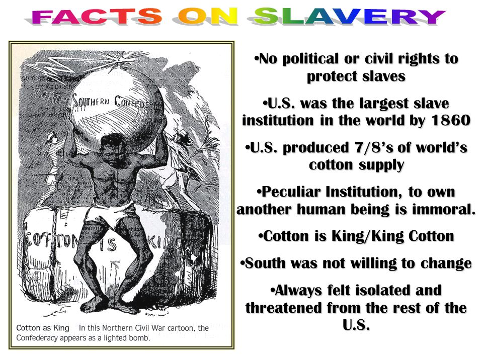 No political or civil rights to protect slaves