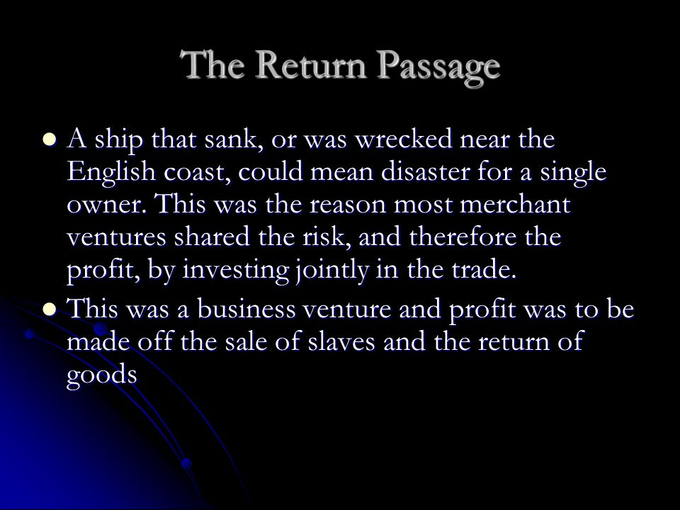 The Return Passage