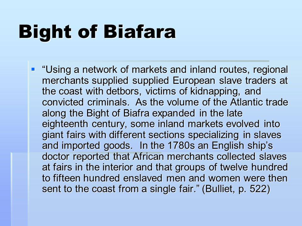 Bight of Biafara