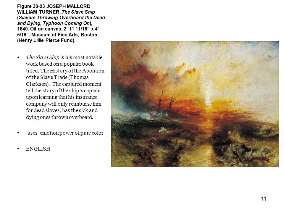 joseph mallord william turner romantic Joseph mallord william turner the shipwreck the shipwreck date of creation: 1805 height (cm): 17050 length (cm): 24160 medium: oil support: canvas subject.