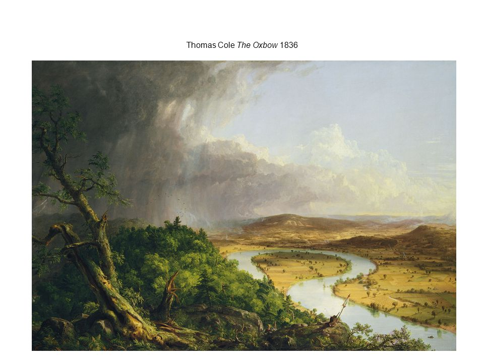 Thomas Cole The Oxbow 1836