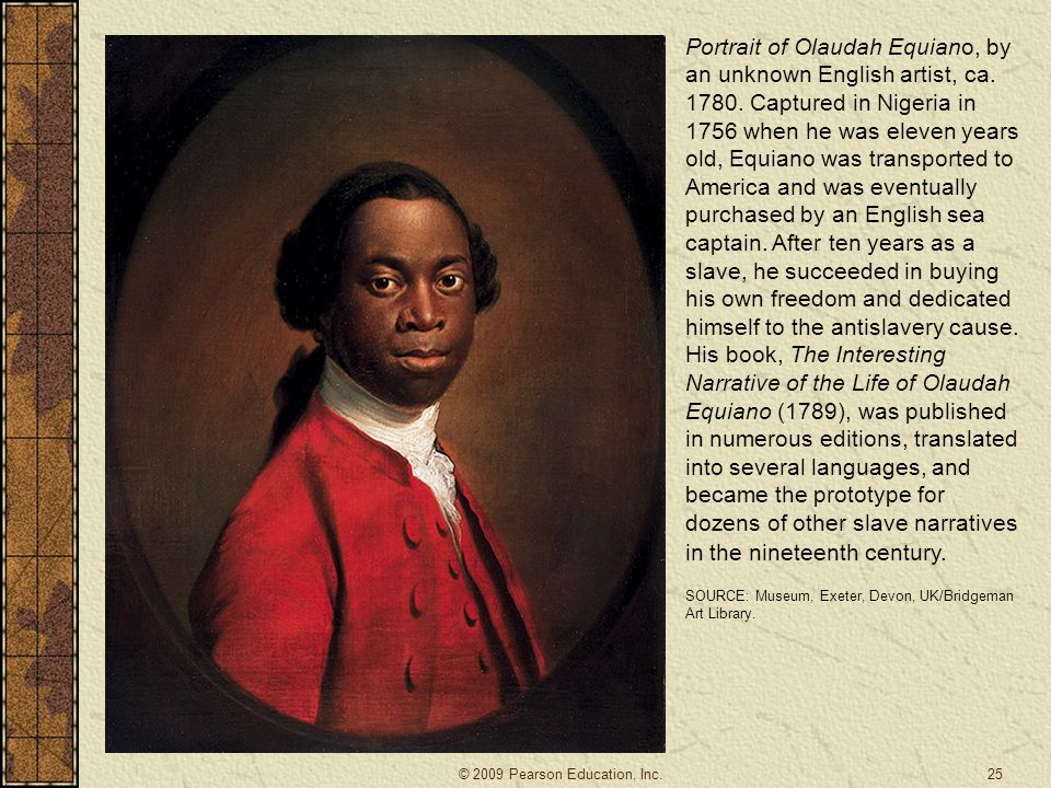 Portrait of Olaudah Equiano, by an unknown English artist, ca. 1780