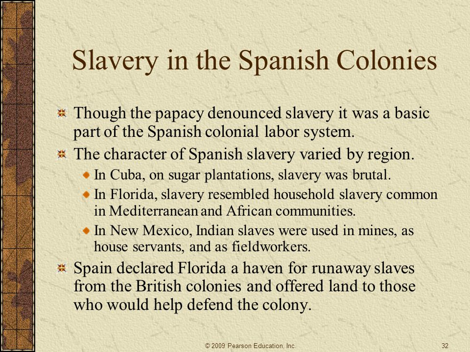 Slavery in the Spanish Colonies