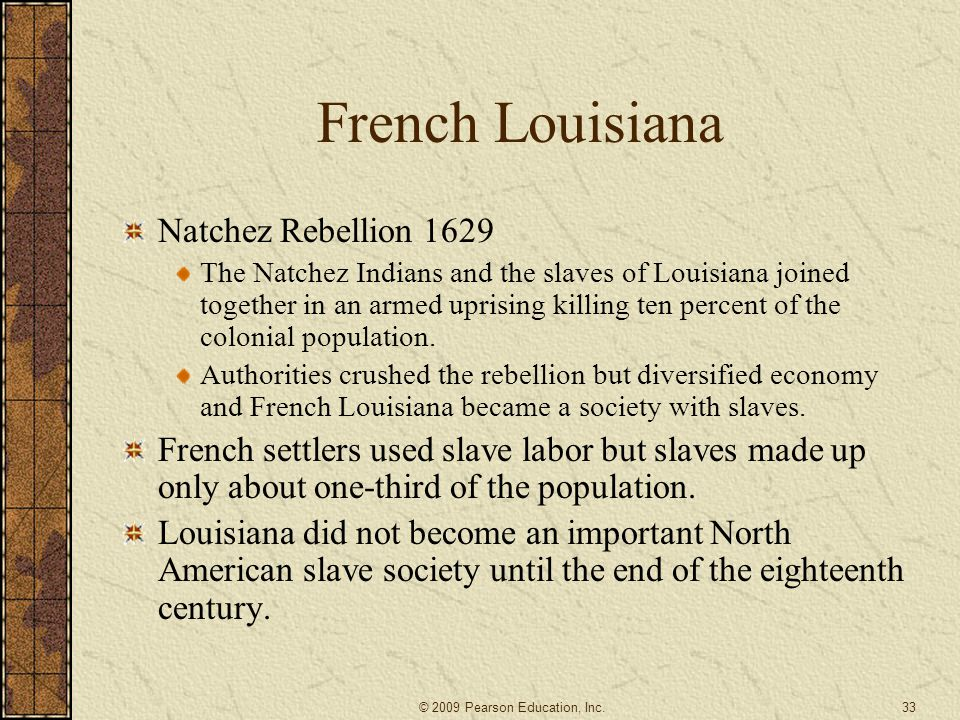 French Louisiana Natchez Rebellion 1629