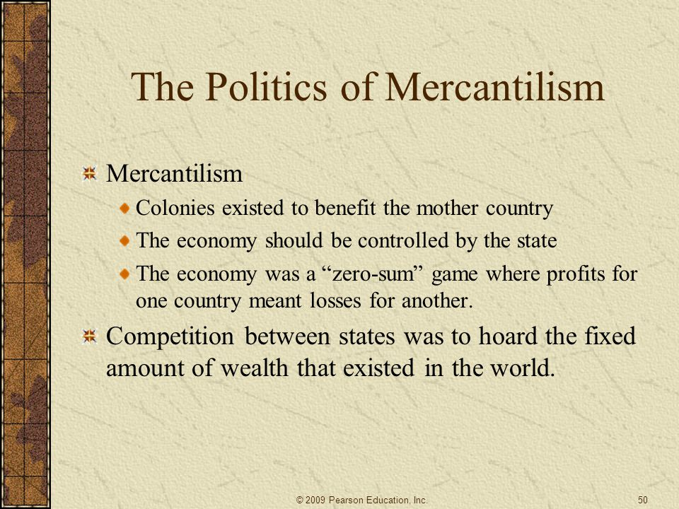 The Politics of Mercantilism