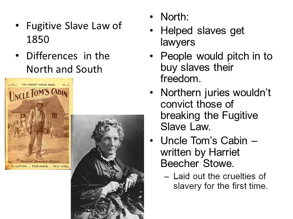 Differences in the North and South