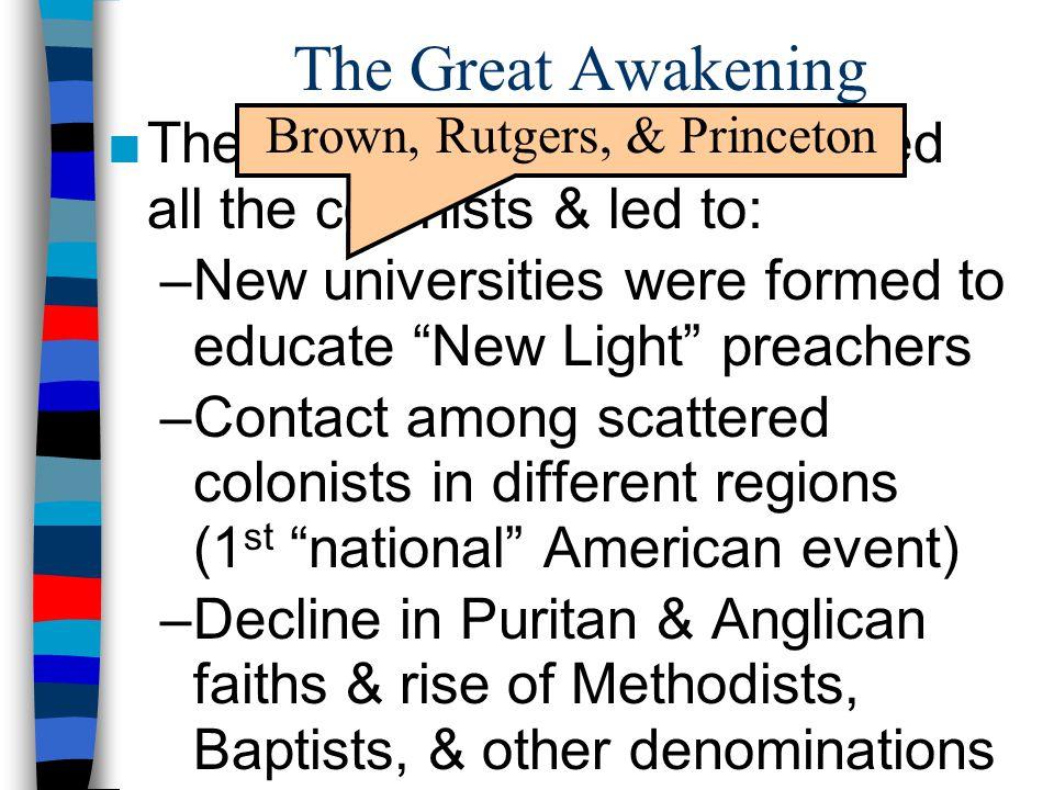 Brown, Rutgers, & Princeton