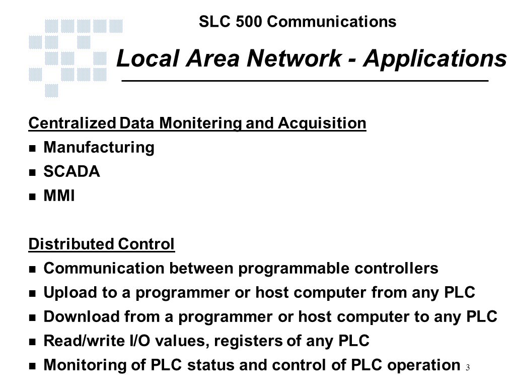 Local Area Network - Applications