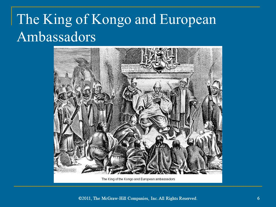 The King of Kongo and European Ambassadors