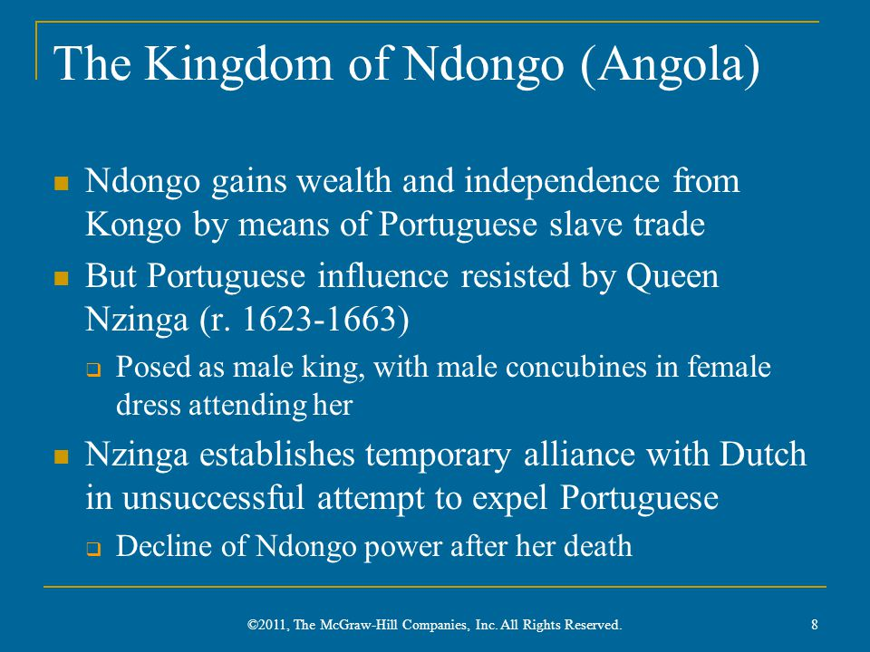 The Kingdom of Ndongo (Angola)
