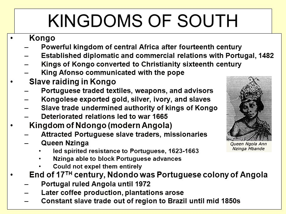 KINGDOMS OF SOUTH AFRICA