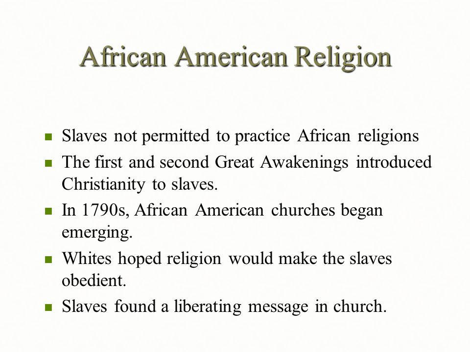 african american religions African american art by richard powell (excerpted from africana:  our online dictionary has african traditional religions information from.