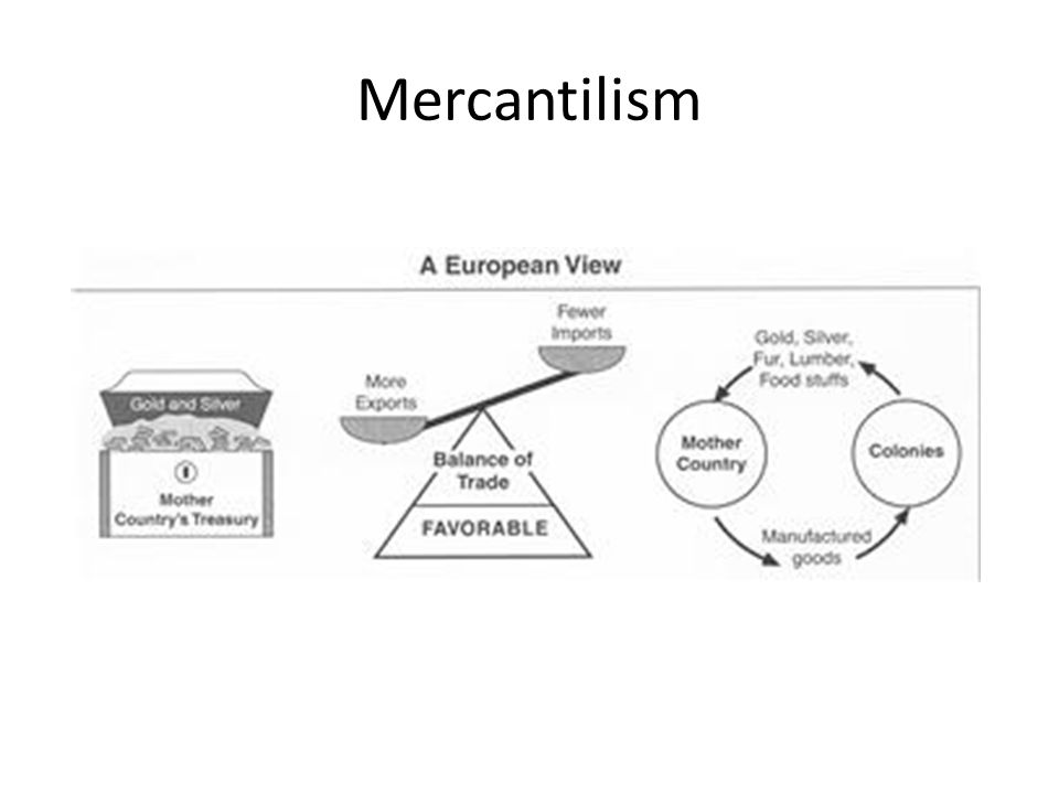 relationship between salutary neglect and mercantilism images