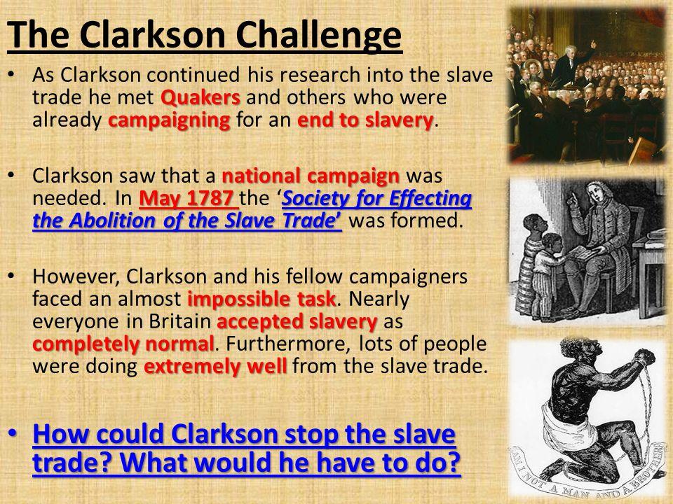 The Clarkson Challenge