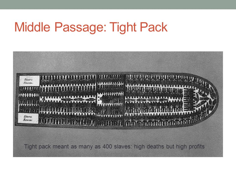 Middle Passage: Tight Pack