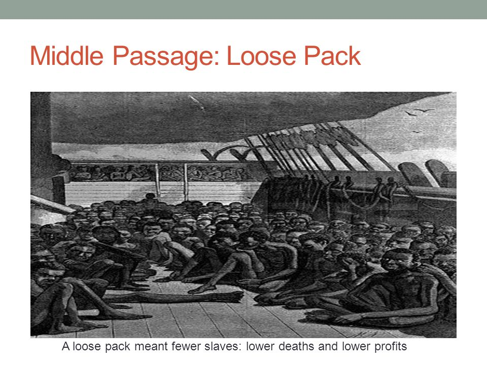 Middle Passage: Loose Pack
