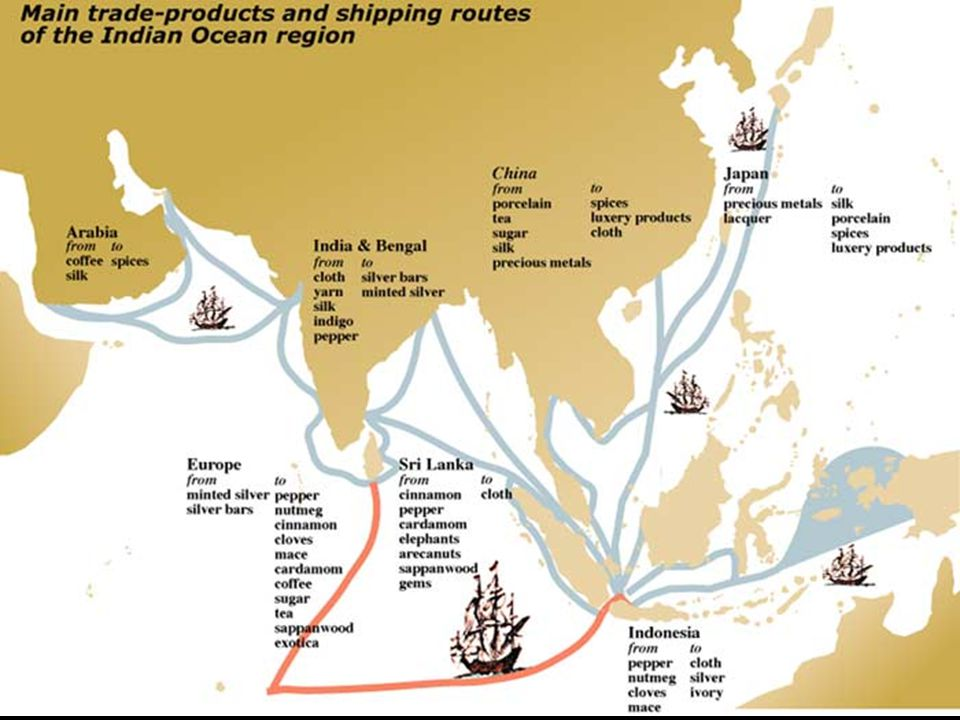 Portuguese trade was in decline by 1600