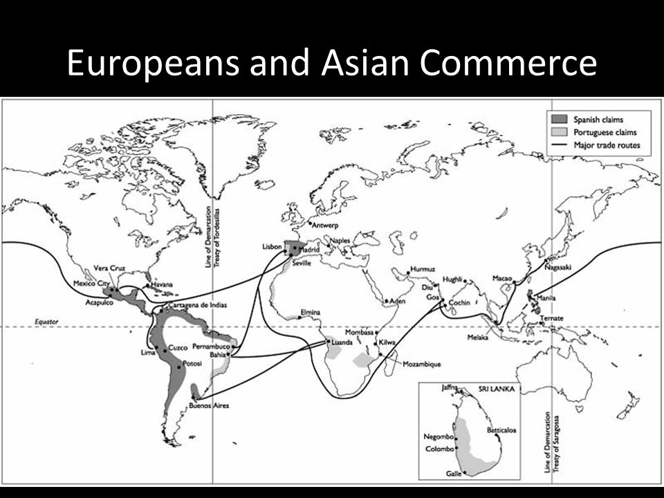Europeans and Asian Commerce