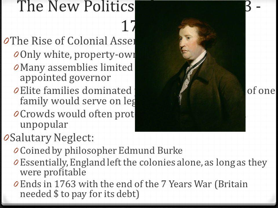The New Politics of Empire, 1713 - 1750