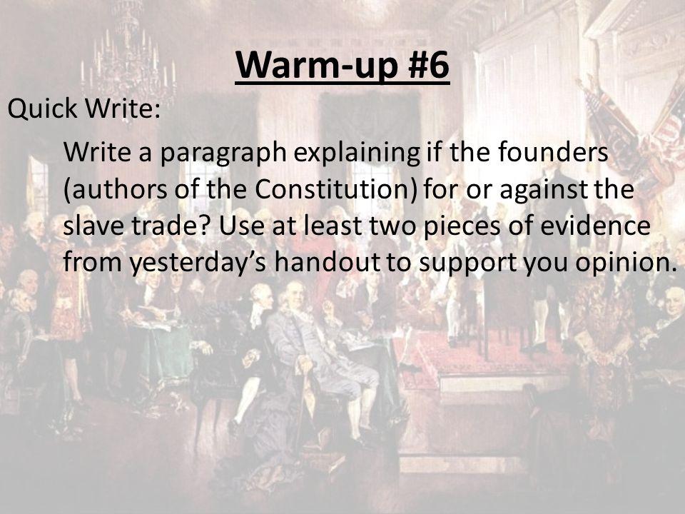 Warm-up #6