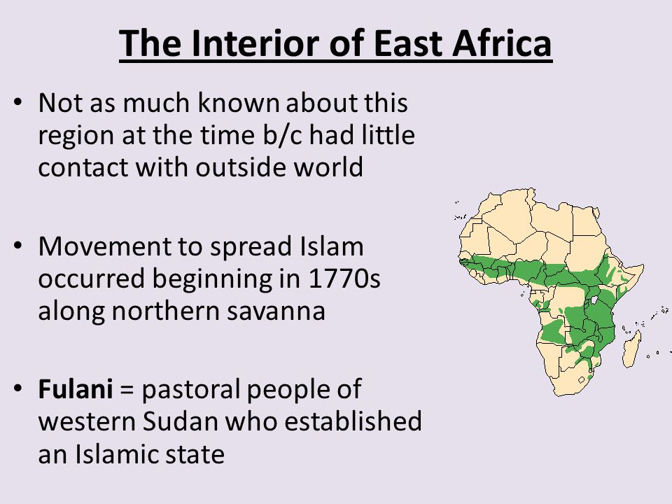 The Interior of East Africa