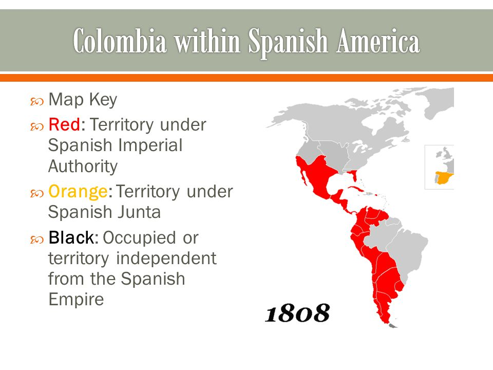 Colombia within Spanish America