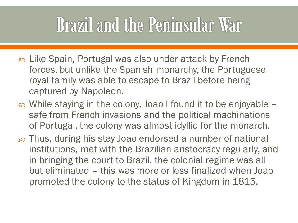 Brazil and the Peninsular War