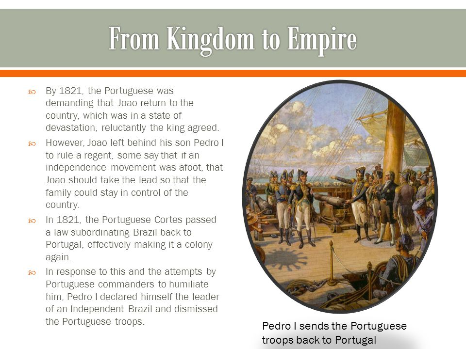 From Kingdom to Empire