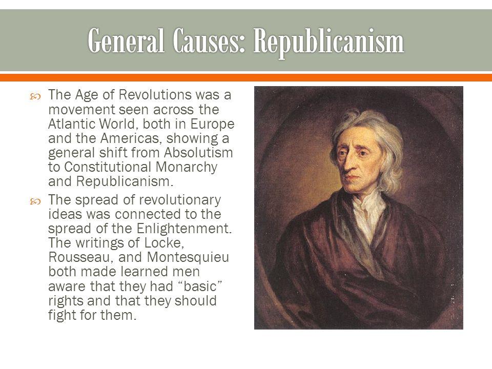General Causes: Republicanism