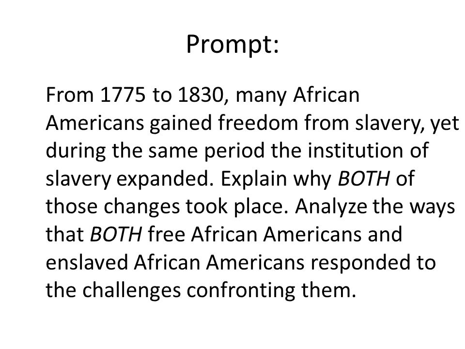essay about slavery in america Essay on slavery the question of slavery has been under vivid discussion for many decades the following research paper analyzes the following questions unlike the greek or roman slaves, black slaves in america were not merchants and were not involved in any capital related transactions that.