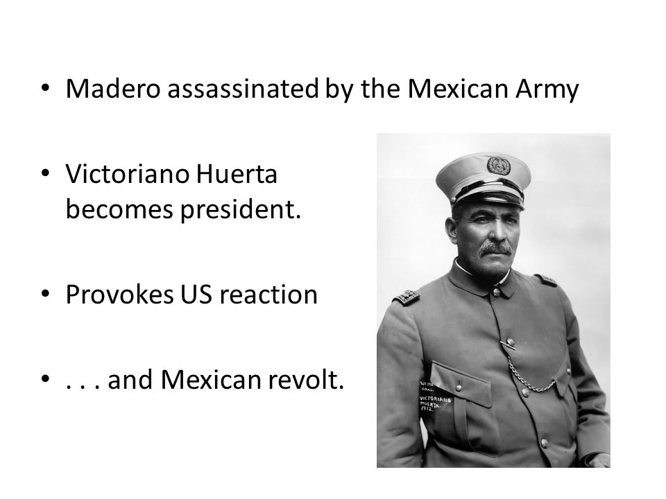 Madero assassinated by the Mexican Army