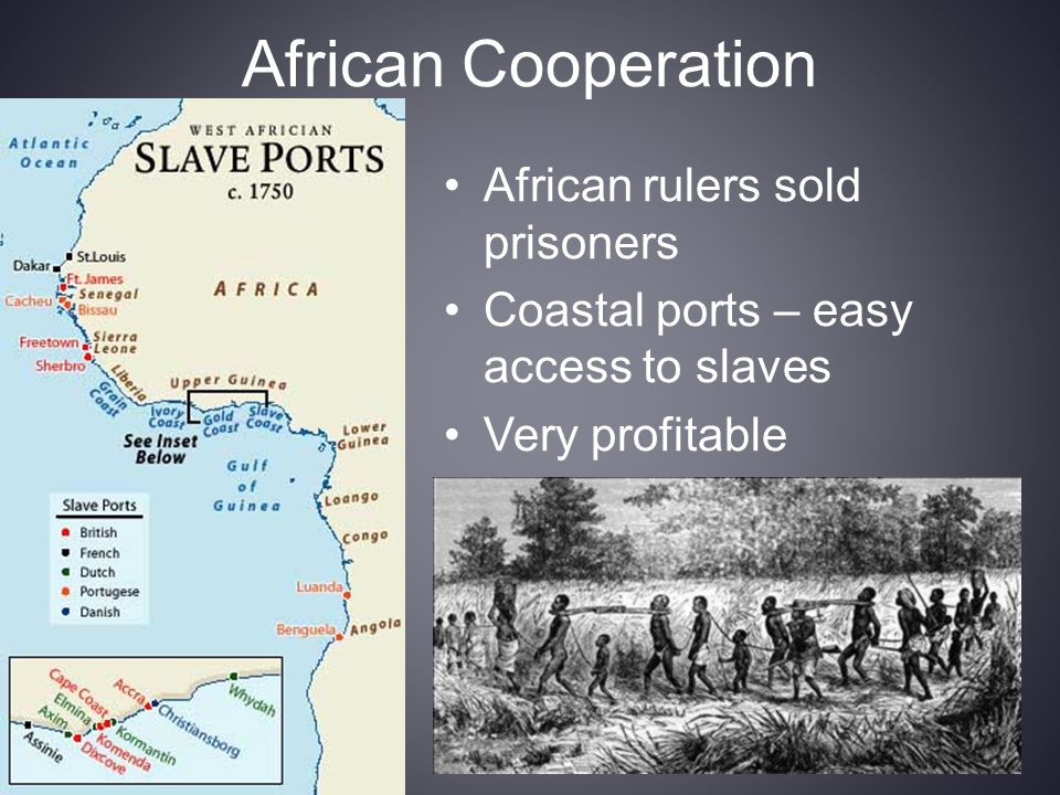 African Cooperation African rulers sold prisoners