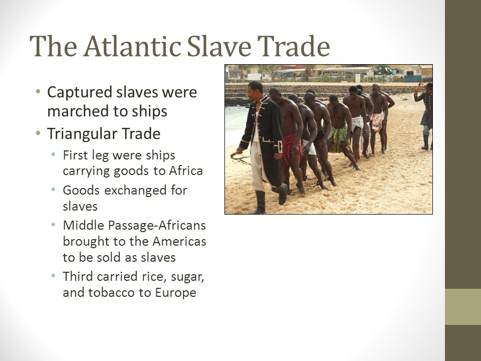 The Atlantic Slave Trade