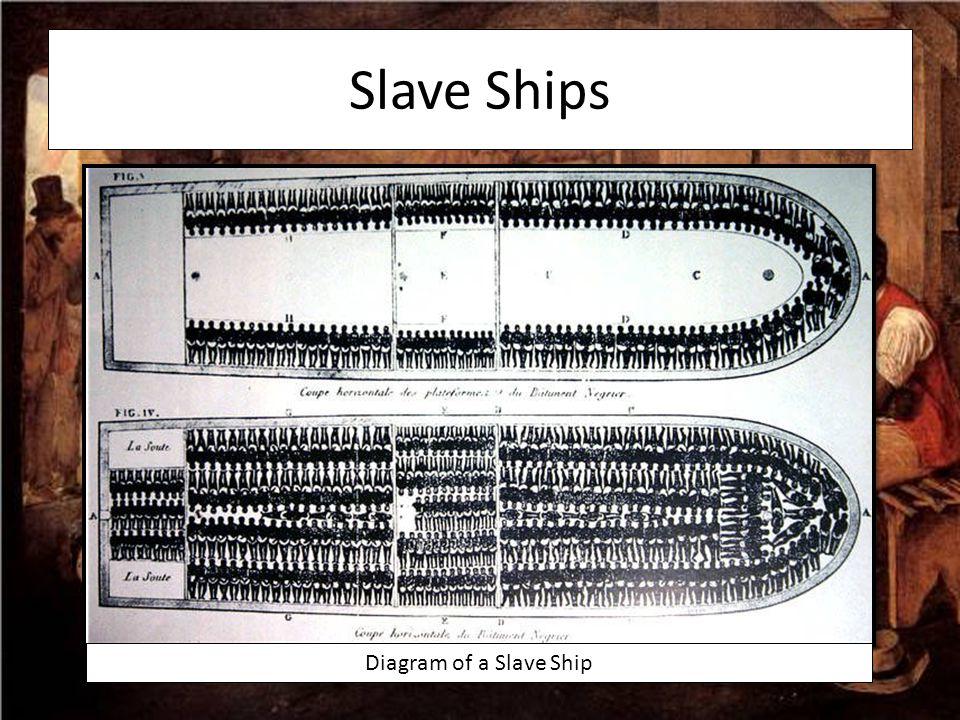 Slave Ships Diagram of a Slave Ship