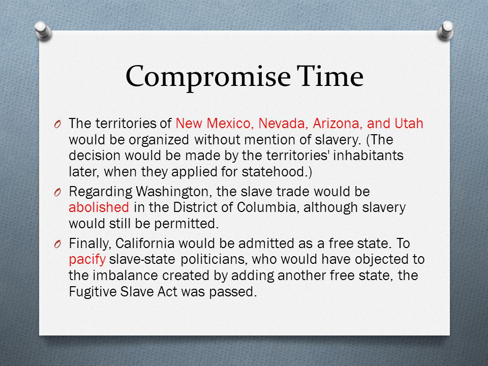 Compromise Time