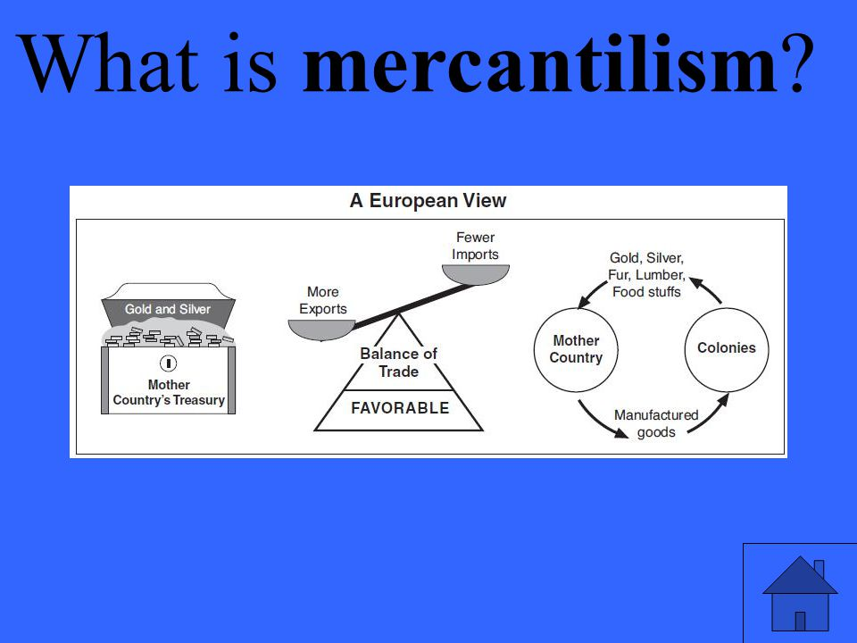 Eleanor M. Savko What is mercantilism 4/14/2017