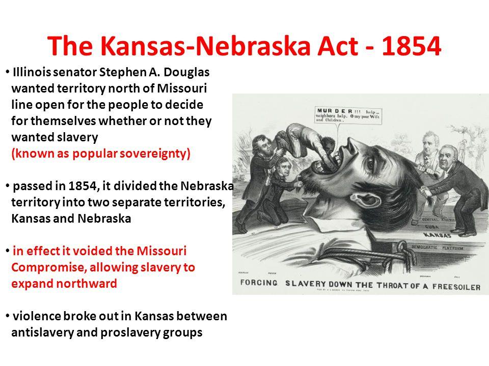 The Kansas-Nebraska Act - 1854
