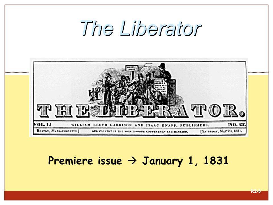 Premiere issue  January 1, 1831
